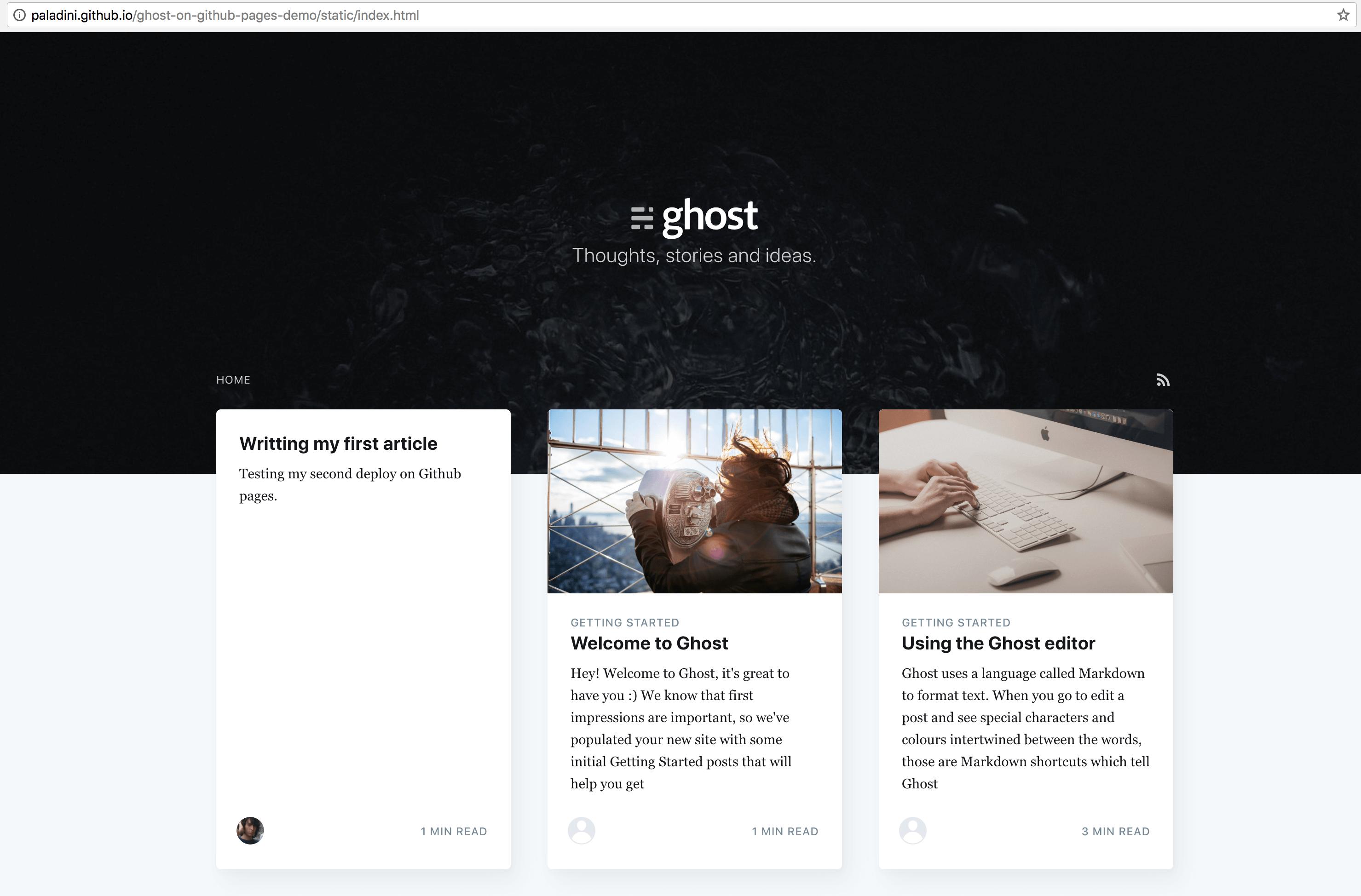 Ubuntu服务器搭建Ghost博客